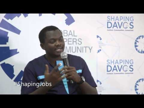 #ShapingDavos in Accra 2016 - Farmerline Alloysius Attah (2) #ShapingJobs