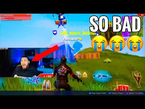 LosPollosTv Getting Worse At Fortnite? Funny Moments and Many Fails thumbnail