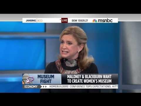 Rep. Carolyn Maloney joins Rep. Marsha Blackburn to discuss National Women's History Museum