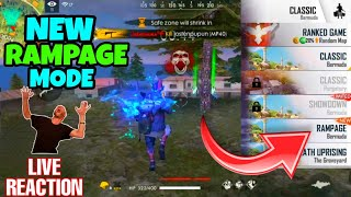 New Rampage Mode | Tips and Trick | Live reaction | 7kills #rampagemodefreefire