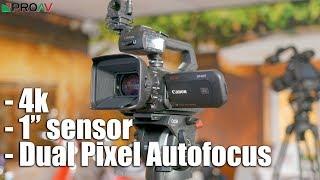 Canon XF400 & XF405 - first look