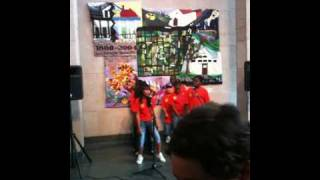 Mr. Michael's Class (Livaudais Middle) Perform @ the Ogden Museum