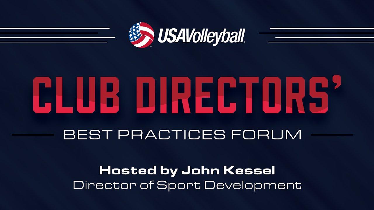 Ken Martel, USA Hockey - Club Directors' Best Practices Forum 2016 - USA Volleyball