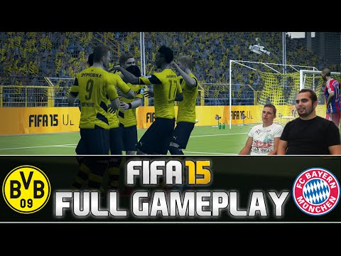 Fifa 15 | FULL Gameplay - Borussia Dortmund vs. FC Bayern München #2 (Rematch) | by PatrickHDxGaming