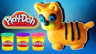 Play Doh Dog - How to Make Dog with Play-Doh