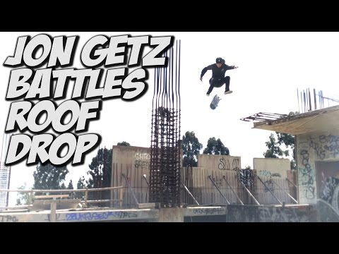 JOHN GETZ INSANE HARD FLIP !!! - A DAY WITH NKA -