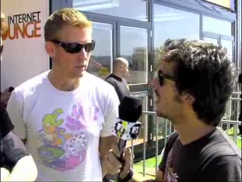 Mastodon @ optimus alive 09 interview with bill kelliher and brann dailor