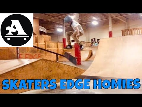 Skaters Edge with the homies dec. 2018
