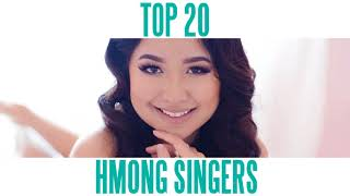 Top 20 Hmong Singers of 2017