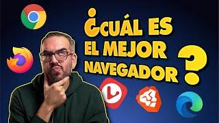 Los MEJORES NAVEGADORES 💻 📱 [Chrome vs Firefox vs Opera...]