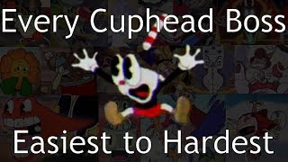 Every Cuphead Boss Ranked Easiest to Hardest!