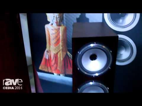 CEDIA 2014: Tannoy Explains the Revolution XT Floor Standing Speakers