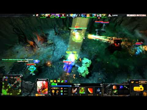 Dreamhack Invitational Dota2 - Day #1 Recap