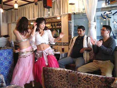 Sexy Japanese Belly Dancer Girls In Turkish Restaurant In Yokohama Japan video
