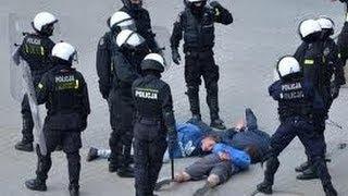 Rrahje me Polic ne Gjilan