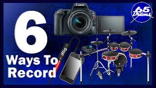 How To Record Drum-covers With Electronic Drums (complete guide)