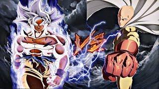 Goku Ultra Instinto Vs Saitama Rap Epicas Batallas De Rap Del Frikismo