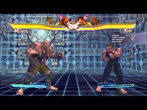 SFxT Practical Cross Rush/Tag Finishers: Paul, Marduk, Kazuya