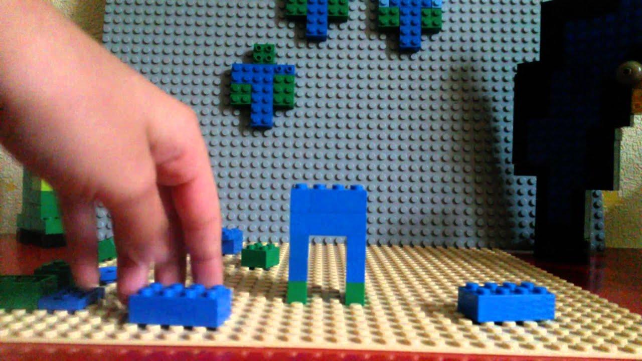 wie baut man ein zombie in lego youtube. Black Bedroom Furniture Sets. Home Design Ideas