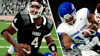 Epic thriller in rivalry game! NCAA 14 Team Builder Dynasty Ep. 8