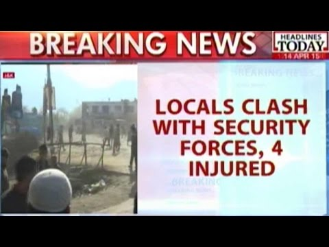 Kashmir Civilian Killing: 4 Injured As Locals Clash With Security Forces