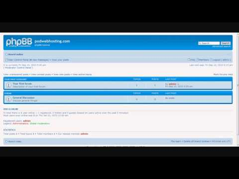 How to use PhpBB
