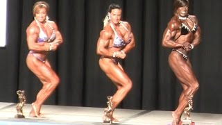 Women's Bodybuilding Heavyweight Top 5 2015 NPC Nationals