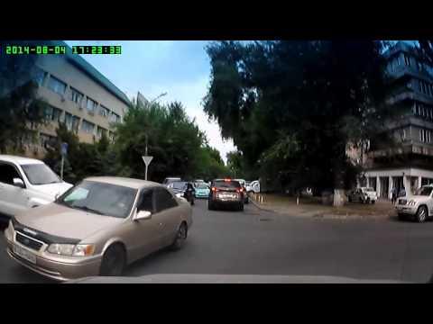 Авария г Алматы 04 08 2014