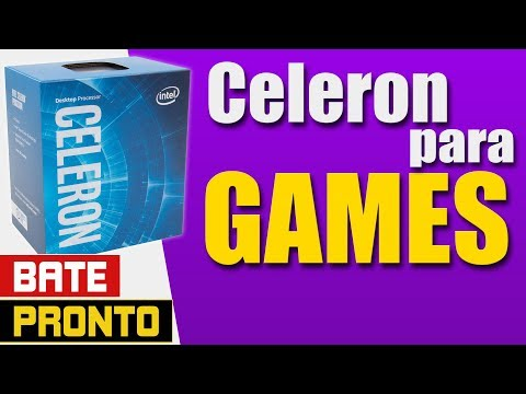 CELERON pra jogos | 2 Núcleos e 2 Threads | AMD Vs INTEL - Grape Tec