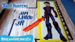 Trollhunters in 28,000 Dominoes | TROLLHUNTERS