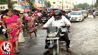 Weather Report | Heavy Rail Lash In All District Of Telangana