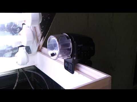 Кормушка для аквариума видео