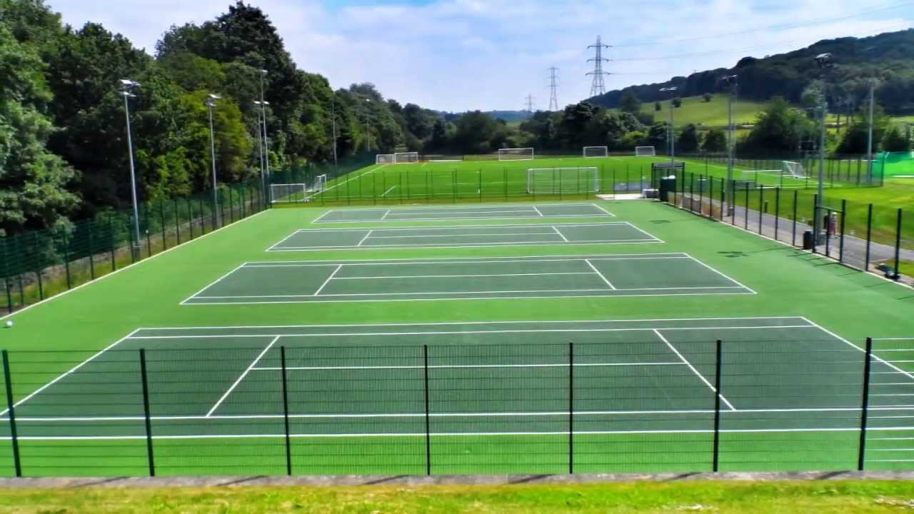 bradford tennis court repair painting contractors youtube