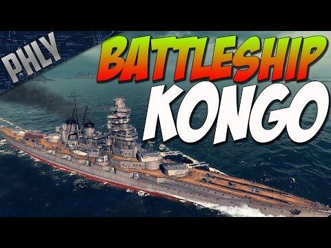 World Of Warships Gameplay- BATTLESHIP KONGO Gameplay
