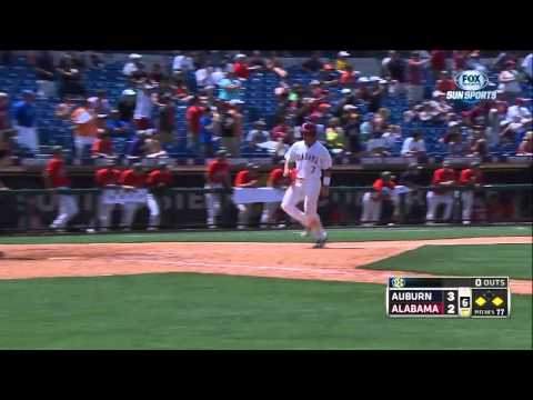 05/21/2013 Auburn vs Alabama Baseball Highlights