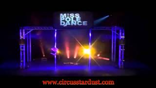Circus Stardust Entertainment Agency Presents: Contortion Act and Pole Dancer (Artist 01388)
