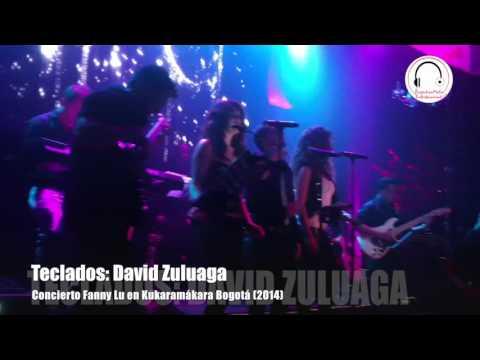 Concierto Fanny Lu y Andres Parra en Kúkara Bogotá