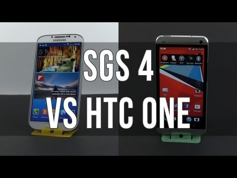 Samsung Galaxy S4 vs HTC One review and detailed comparison