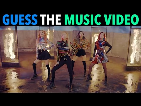 K-POP CHALLENGE - GUESS THE MUSIC VIDEO #2!