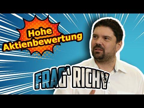 Frag' Richy: Hohe Aktienbewertung – warum ist das wichtig für Aktiengesellschaften | Börse Stuttgart