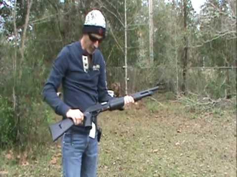 Stevens Model 320 Pump Shotgun