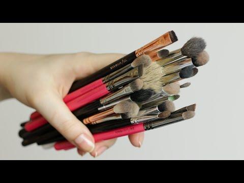 4 sposoby na mycie pędzli do makijażu ♡  Red Lipstick Monster ♡