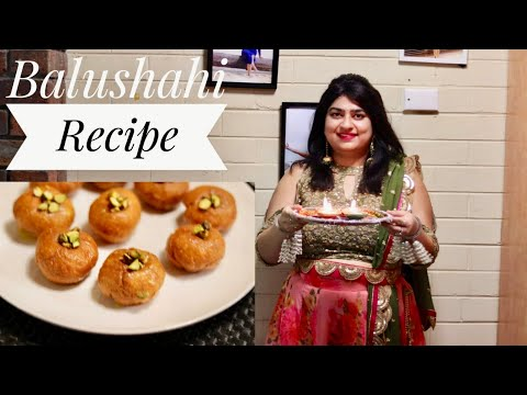 Balushahi Recipe in Hindi | Diwali Recipes Diwali Special | Traditional Indian Sweet | Balushahi
