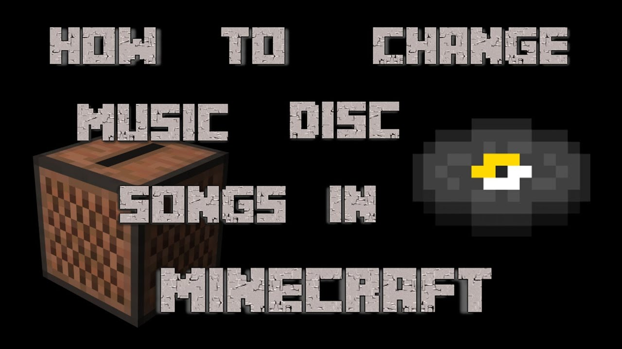 NEW How To Change Music Disc Songs In Minecraft 18X