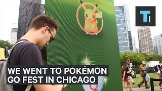 We Went To The 'Pokémon GO Fest' In Chicago — Here's What It Was Like