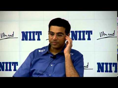 Viswanathan Anand in conversation..