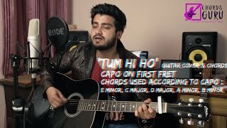 Tum hi ho | Guitar cover with chords progression featuring  Ravi Zharotia | Chordsguru