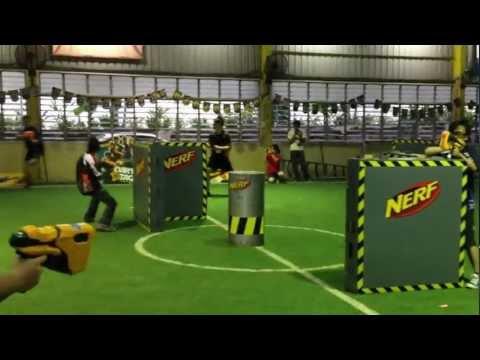 NERF Dart Tag Tournament Malaysia 2012. Final Match