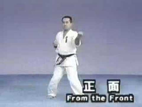 Sanchin Kyokushinkai kata Image 1