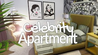 Celebrity Apartment! // The Sims 4 Speed Build